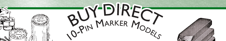 Buy Direct 10 Pin Markers